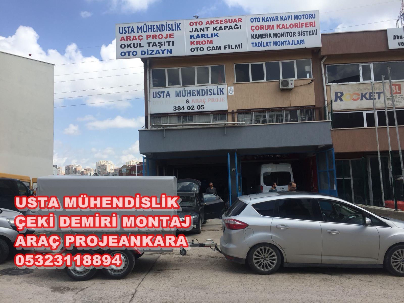 USTA MÜHENDİSLİK ARAÇ PROJE +OTO DİZAYN FİRMASI ANKARA